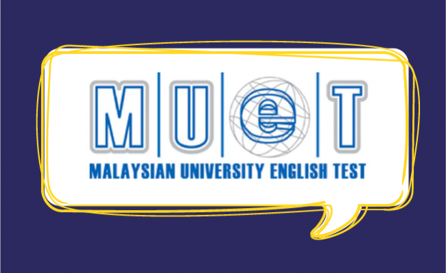 MUET university English test